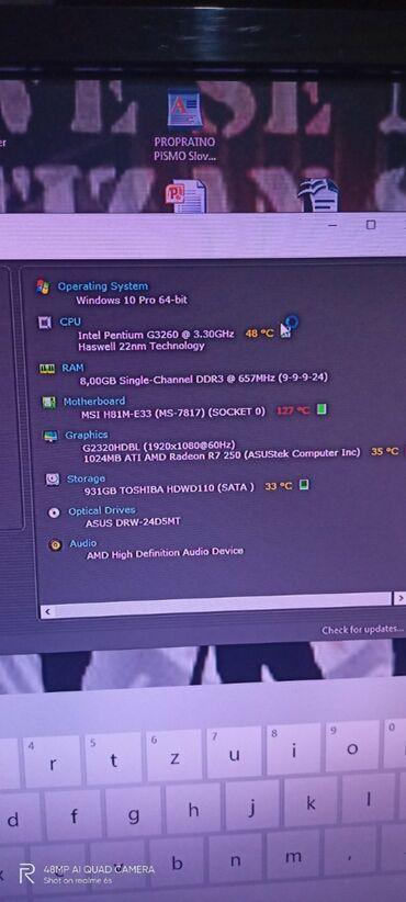 Asus p835 - Srbija: Računar gejmerski,jedini razlog prodaje nekorišćenje istog,stanje
