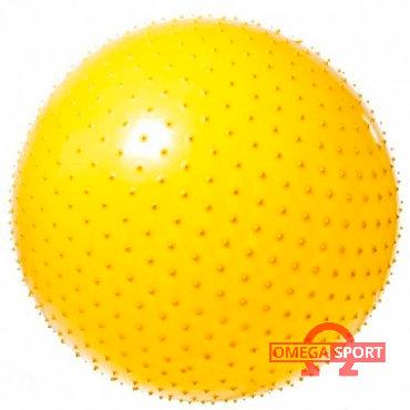 Мячи - Бишкек: Гимнастический мяч (Фитбол) 65 массажныйОписание:Мяч накачивается