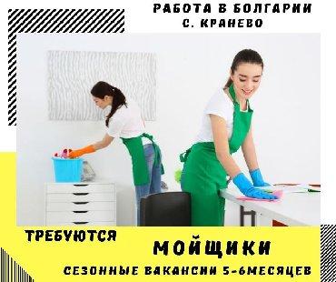 Работа мойщик в Болгариис. Кранево сезонные вакансии 5-6 месяцев