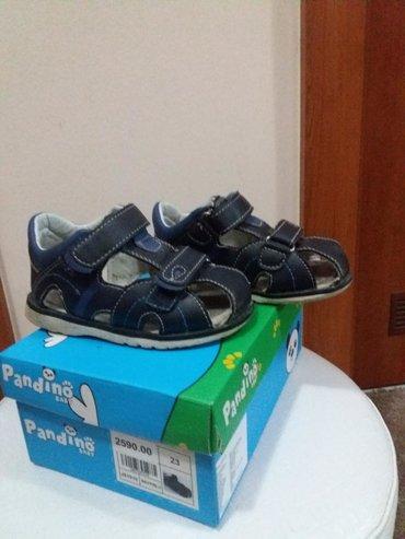 PANDINOO sandale br.23 korišćene vrlo malo, sto se i vidi na slikama