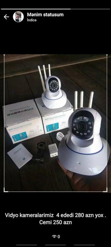 Musahide kamerasi( 3 antena kamera)Telefonla istənilən yerdən online