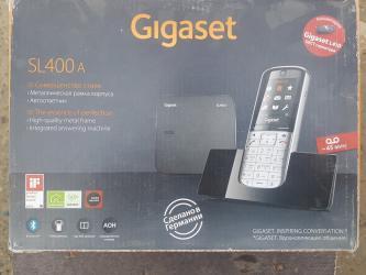 """besprovodnoi telefon gigaset в Азербайджан: Stasionar telefon """"Gigaset SL400ATelefon tam yenidir sadece vitrinde"""