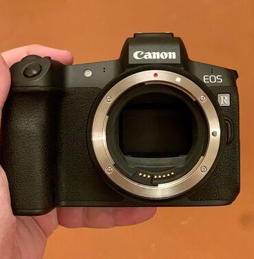 2192 elan: Canon Eos R Aynasız (Mirrorless) Rəqəmsal Kamera (Body) + Mount adapte