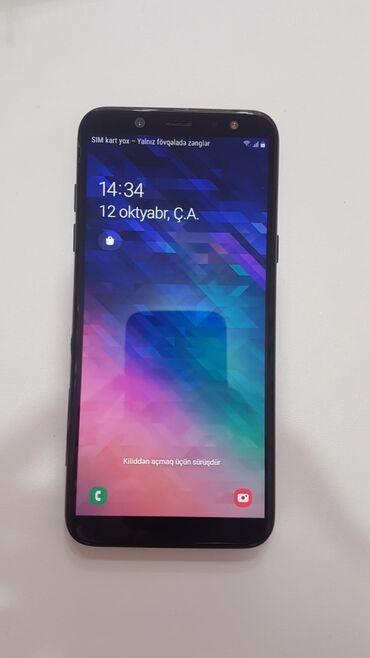 10256 elan | MOBIL TELEFON VƏ AKSESUARLAR: Samsung Galaxy A6 | 32 GB | Qara | Barmaq izi, İki sim kartlı