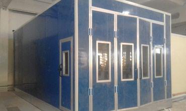 гараж из сендвич панелей в Кыргызстан: Малярный камера установим. Сендвич панели мантож каркасные конструкции