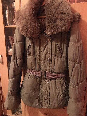 Zimska-jakna-sa-krznom - Srbija: Zimska jakna sa jako mekanim krznom, pufnasta i topla