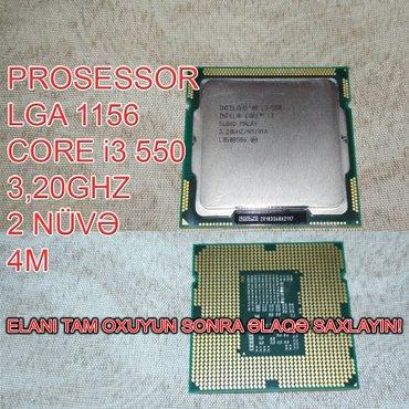 Bakı şəhərində Prosessor (CPU) Core i3 550