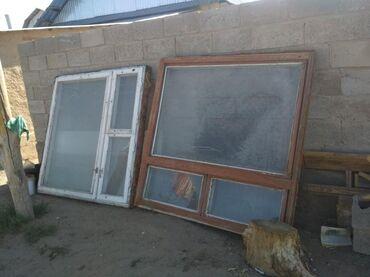 22 объявлений: Продаются окна большие размер 150/150 б/у цена 4000сом 2шт