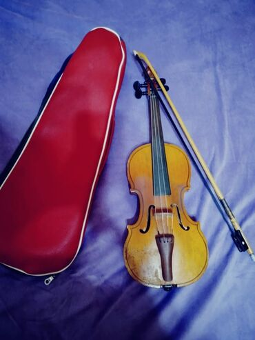 """Скрипки - Кыргызстан: ■Скрипка • """"RosMuzProm"""" •Смычок и чехол•Размер 1/4-Скрипка для ваших"""