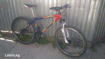 Продаю велосипед привезён из германии рама алюминиевая вилка с в Бишкек