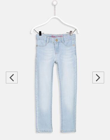 Суперские джинсы скини на девочку! Размер 5-6 лет,новые с этикеткой!