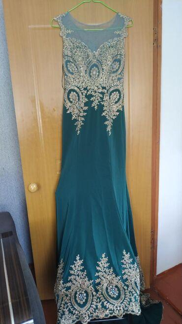 odin raz odevala na vypusknoj в Кыргызстан: Платье с сваровскими камнямисо шлейфом