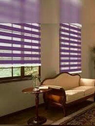 Zebra zavese su izrađene u kombinaciji dve vrste materijala sa