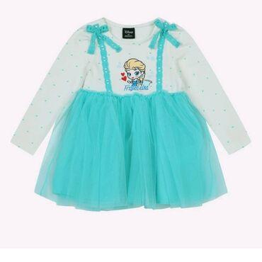 Корейские платья .Новые. голубая эльза 3~4года. Белоснежка 2~3года