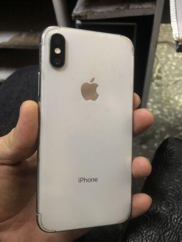 термотрансферная пленка в Кыргызстан: Б/У iPhone X 256 ГБ Серебристый