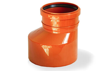 Трубы в Кыргызстан: Редукция наружной канализации Ø110/160Характеристики:Тип фитинга -
