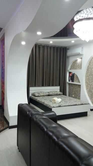 Vip 1комнатная студия квартира в элитном доме в 7 микрорайоне. в Бишкек