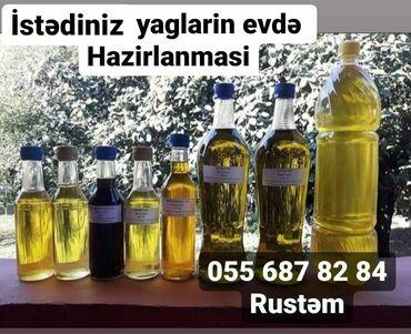 total satış - Azərbaycan: Satişda Cvnəbaxan Yaği Topdan yaxud Litir satişi