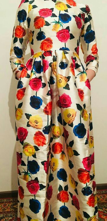 Платье в пол из плотной ткани. в Бишкек