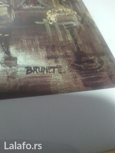 Nova, slikar brunet, 44x38-sa ramo - Nis