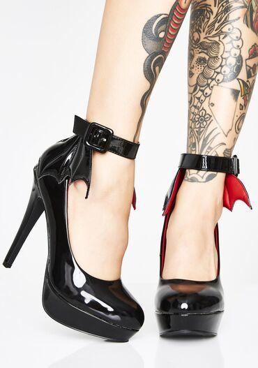 туфли-новые в Кыргызстан: Туфли новые. Американский бренд Killstar. Цвет черный, размер US6