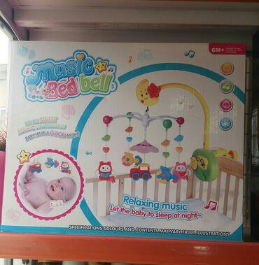 arılar üçün - Azərbaycan: Usaq beşiyi üçün oyuncaq. Tezedi yenin dükandan satmaq üçün reklam