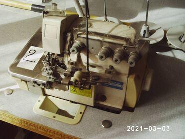 электро швейная машинка в Кыргызстан: ШВЕЙНАЯ 5-ти НИТОЧНАЯ МАШИНКА *MARL*, шьет все виды ткани, тамбурный
