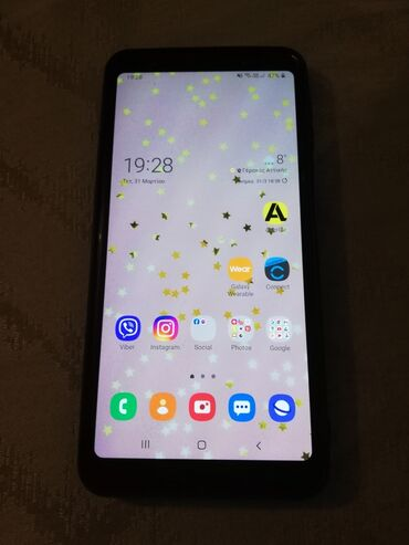 Samsung Galaxy A7 2018 | 64 GB | Μαύρος | Μεταχειρισμένο | Sensory phone, Dual SIM cards, Face ID