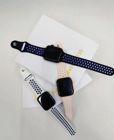 Стекольный завод в токмаке кыргызстан - Кыргызстан: Smart watch t55 1:1 похож на apple watch, даже браслеты