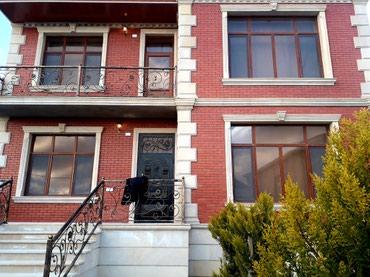 Bakı şəhərində Merdekanda 4sotda 2mertebeli villa. qaz su iwiq var torpagin evin