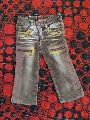 Теплые фирменные вельветовые джинсы в в Бишкек