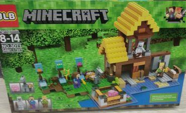 konstruktor mozaika - Azərbaycan: Minecraft konstruktor 546 hissəli  Майнкрафт конструктор 546 частей
