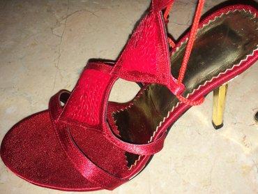 Bakı şəhərində Gladiator qırmızı rengde ayaqqabılar yenidir 320 manata alınıb