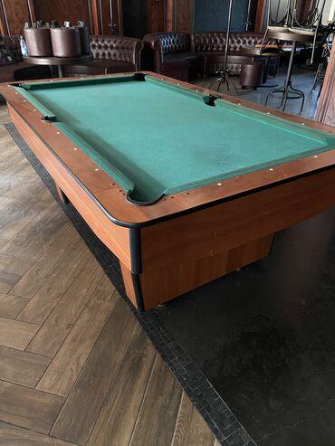 Продаю бильярдный стол американский пул В комплекте: треугольник