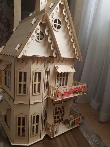 дом-для-кукол в Кыргызстан: Кукольный домик. изготавливается из экологичных материалов в россии