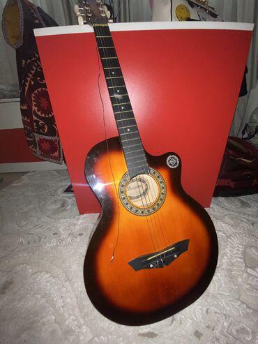 """Акустическая Гитара «Lanjian"""", шести струнная( струны нужно"""