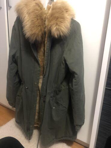 Zimske jakne sa krznom - Srbija: Jakna zimska sa kapuljacom od krzna M