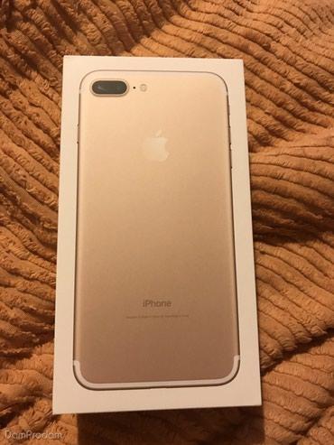 Продам iPhone 7 plus 32GB GOLD. Новый с гарантией. Окончательно 40000 в Ош