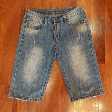 джинсы мужские 32 в Кыргызстан: Шорты мужские/подростковые, размер 32, в отличном состоянии, цена 300