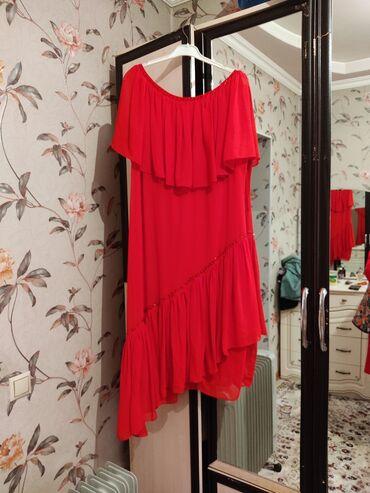 платья вечерние in Кыргызстан | МАТЕРИНСКИЕ ПЛАТЫ: Продается платье женское красное! Размер 50 Турция. Одевали один раз п