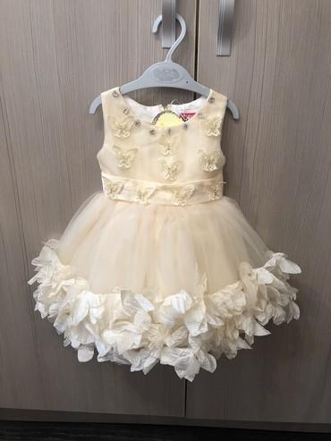 платье для мамы и дочки на годик в Кыргызстан: Очень красивое новое платье на 1 годик Нам подарили размер не подошел