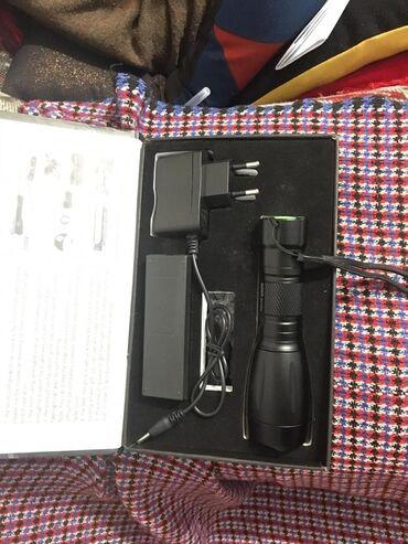 Продаю тактический зарядный светодиодный фонарик высокого качества
