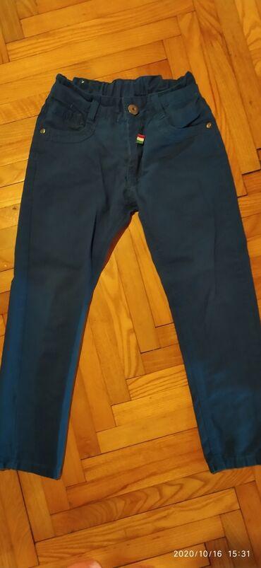 Pantalone nenosenevel 8,svetlije plave,slikano bez blica