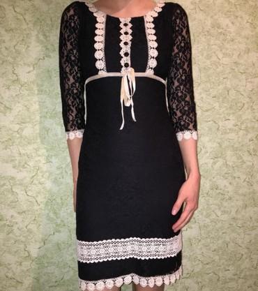 вечернее платье ниже колен в Кыргызстан: Продаю платье, надето пару раз, производство турция, размер xs, на