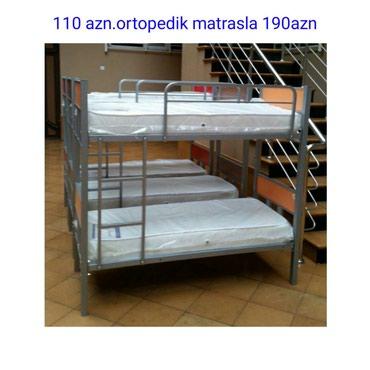 Bakı şəhərində Rrmebel fabrikinin istehsalı zəmanətli iki mərtəbə çarpayılar.