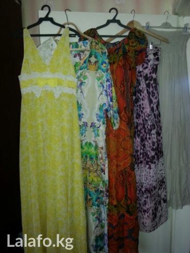 Шикарные платья в пол! Фирмы дорогие,все производства Италия размер 42 в Сокулук