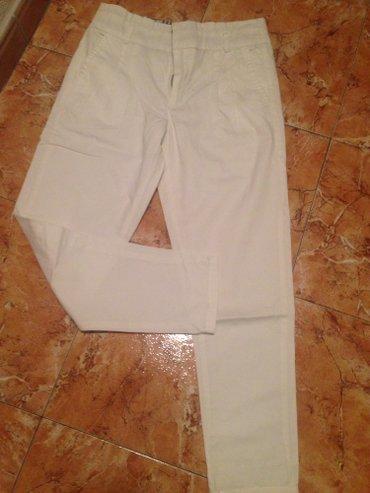 CHICOREE Nove bele pantalone vel 34 pogledajte i ostale stvari - Smederevo