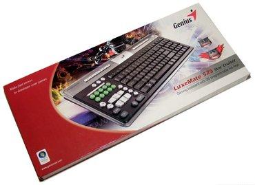 Bakı şəhərində Genius oyun klaviaturasi satilir.. Model-luxemate 525