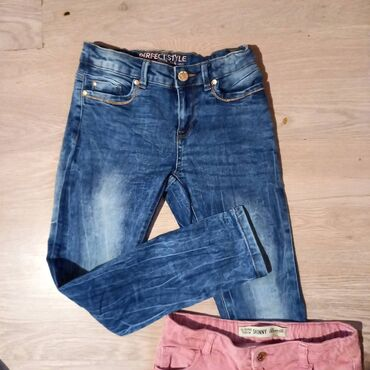 10180 oglasa: Farke i pantalone roze za devojcice. Plave nove,roze su