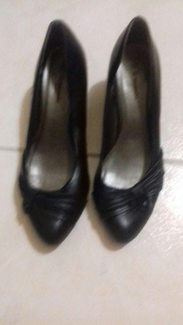 Γόβες μαύρες, νο39, φορεμένες 1 φορά (κωδ. 104) σε Kamatero